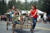 Bed Race held during Copper Center's annual Fireweed Festival
