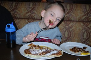 Restaurants that cater to kids are a valuable resource when traveling
