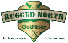 Rugged North Outfitter insulated work wear, John Deere clothes, FR (flame resistant) clothing, hunting apparel and kid's play wear