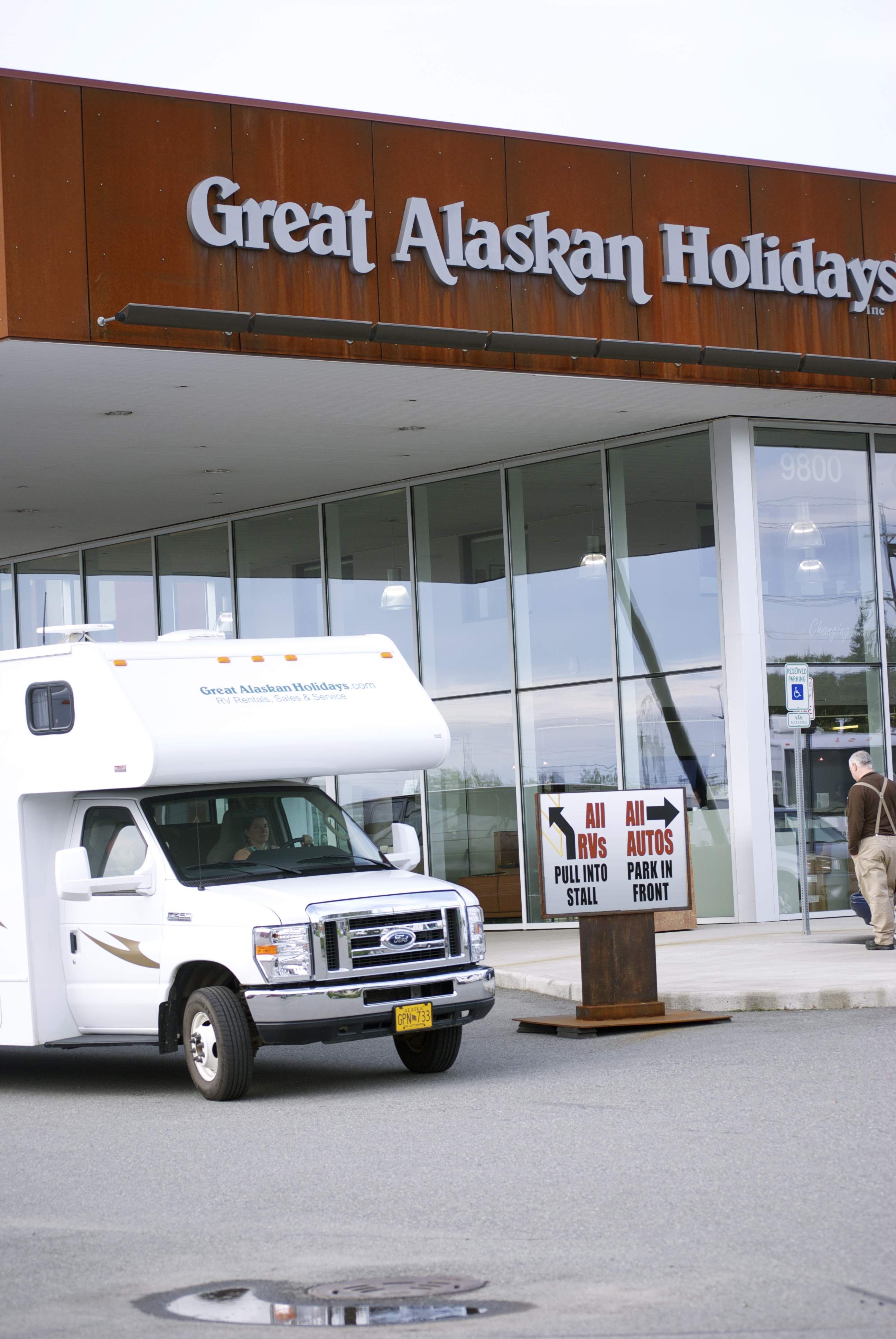 Great Alaskan Holidays has a huge inventory of new and pre-owned RVs, and folks to help navigate the whole process.