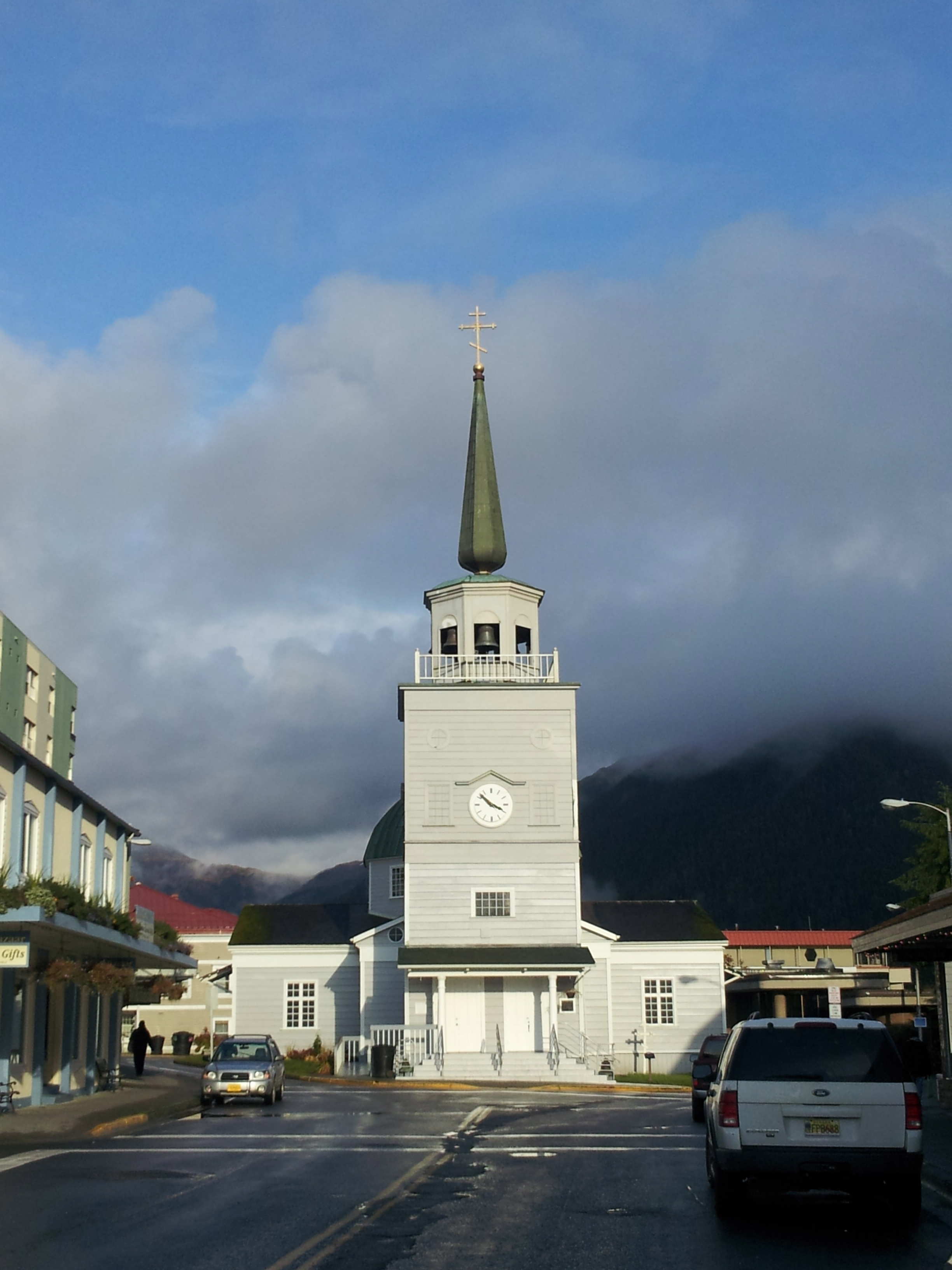St. Michael's Russian Orthodox Church stands in the middle of Sitka, and is a popular destination for visitors.