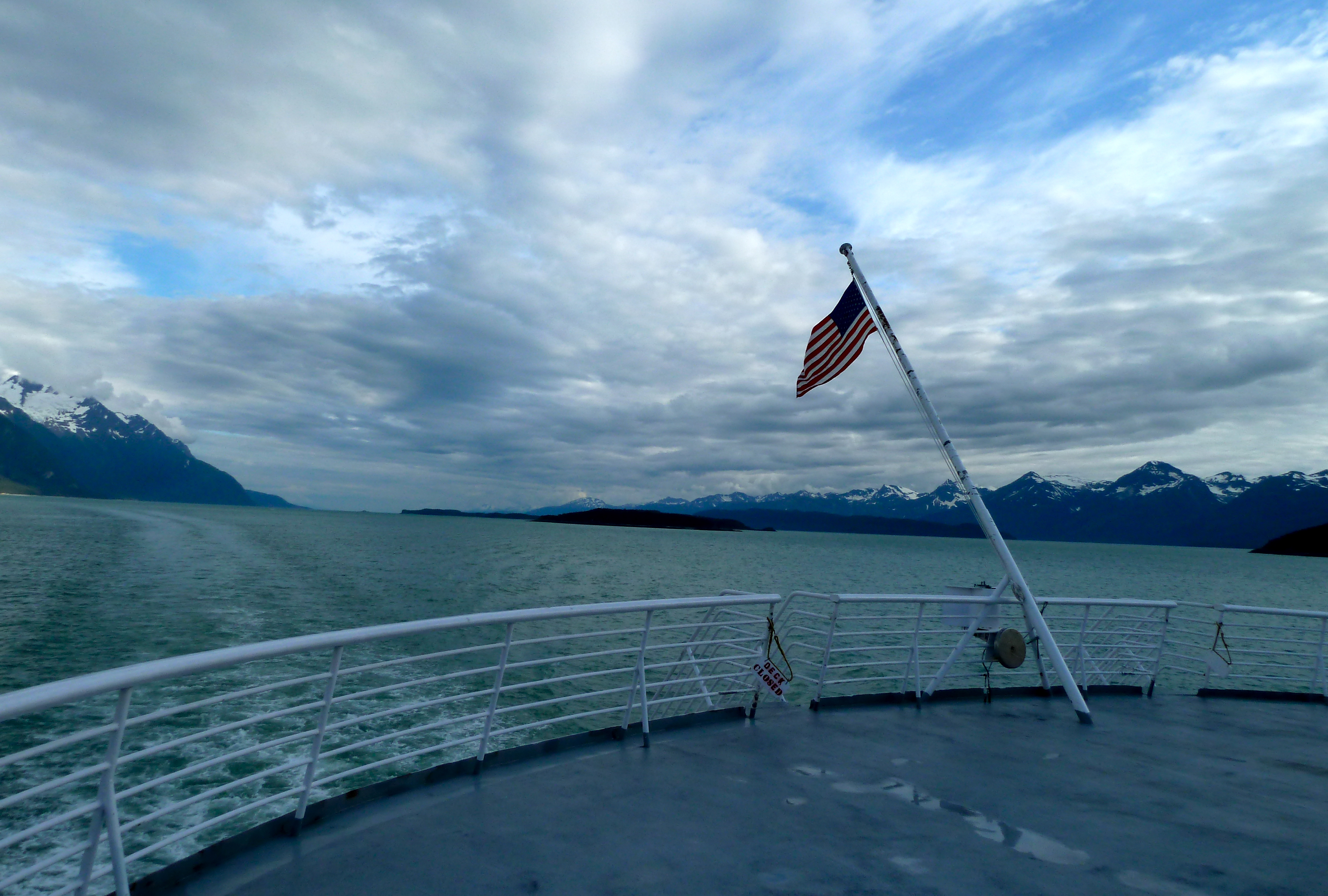 Stunning scenery makes an Alaska Marine Highway trip worth every minute.