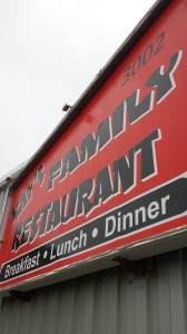 Kay's Family Restaurant is locaated in the Spenard neighborhood of Anchorage.