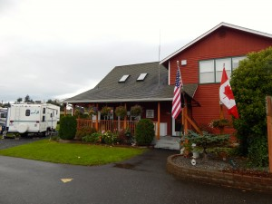 Considering an RV trip to or from Alaska? I checked out the clean and very family-friendly Bellingham RV Park!