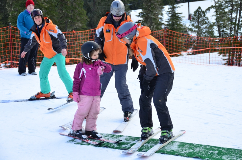 What time is it? It's time to SKI! [image courtesy Eaglecrest]