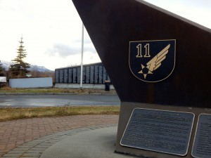 Visit Merrill Field's south side and the 11th Air Force memorial in Anchorage.