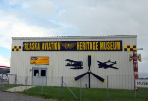 Located on the shores of Lake Hood in Anchorage, the Aviation Heritage Museum is a fabulous collection of aircraft in Alaska.