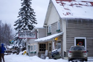 Downtown Talkeetna is historic and accessible for Nordic skiing families.