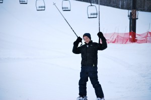 Hillberg Ski Area is a military family's best friend on Christmas Eve.