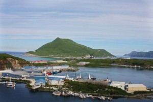 The Port of Dutch Harbor. [image courtesy Unalaska/Dutch Harbor CVB]