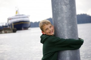 The Alaska Marine Highway System ferries are family-friendly to the max.