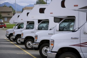See these shiny new RVs? They'll all be in use come summer.