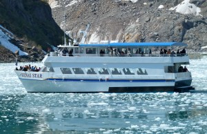 Day cruises are an excellent way to see Alaska's glaciers and wildlife.