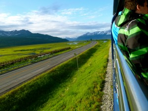Don't miss views like this from the Alaska Railroad during your vacation. Reserve early.