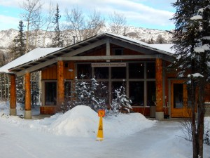 The Murie Science and Learning Center becomes Denali National Park visitor HQ during the winter months. AKontheGO/Erin Kirkland