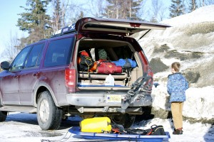 Preparing a winter driving kit is an important part of any Alaska road trip.