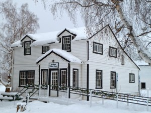 The Creamer's Field Farmhouse Visitor Center welcomes skiers, hikers, and bird enthusiasts all year long. Erin Kirkland/AKontheGO