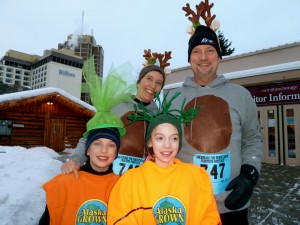 Fur Rondy invites the opportunity to dress up like a root vegetable or ungulate and run a race...