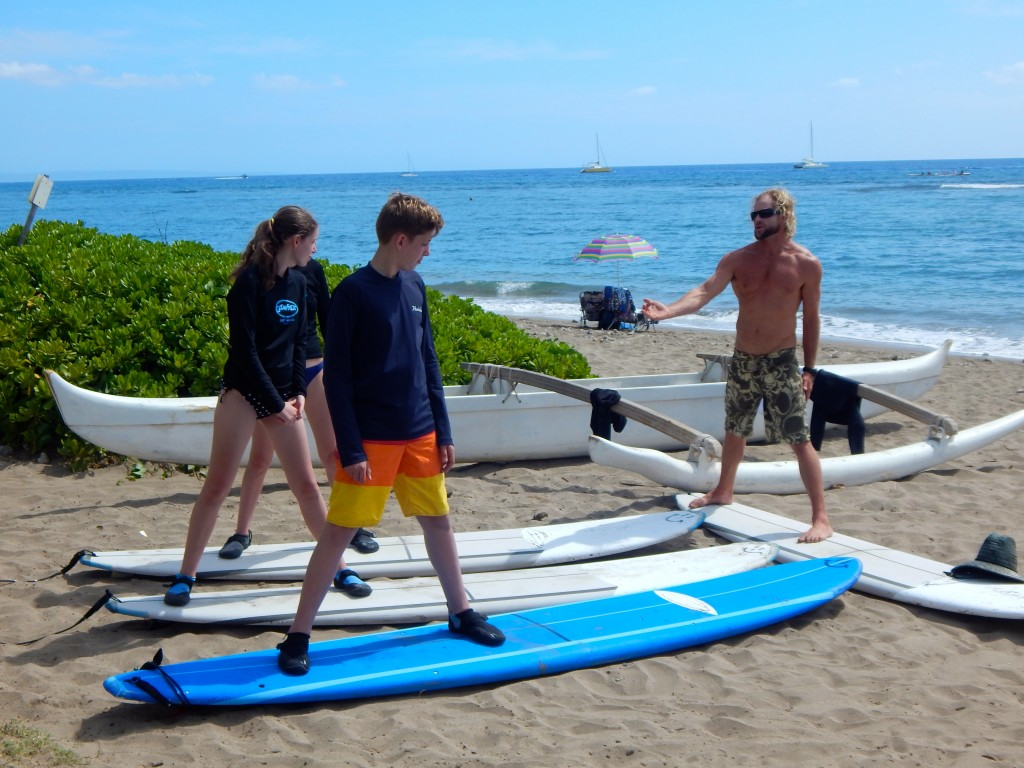 Surf lessons on Maui? Yes, please. Erin Kirkland/AKontheGO