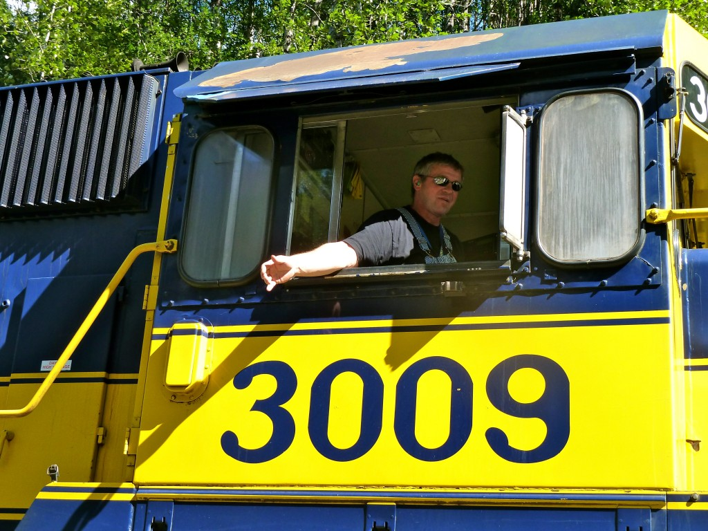 Meet the men and women who make the trains go at the Alaska Railroad Open House in Fairbanks. Erin Kirkland/AKontheGO