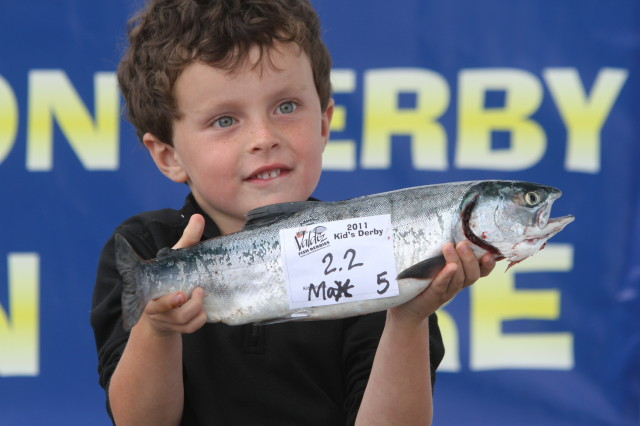 Image courtesy Valdez Kids Pink Salmon Derby, 2011