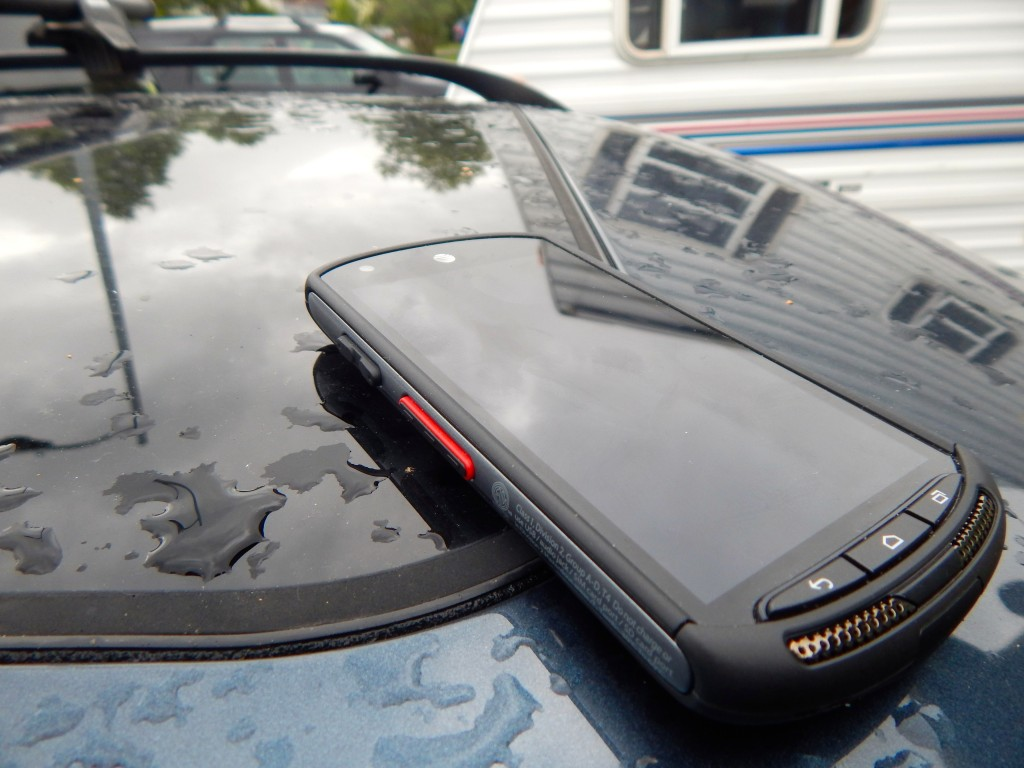 I can't break this phone, even when I leave it on top of the car. Ahem. Erin Kirkland/AKontheGO