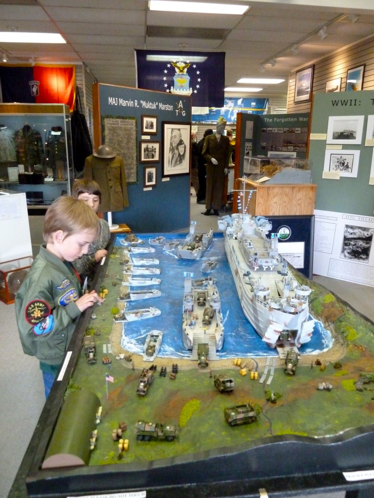 The Alaska Veterans Museum on 4th Avenue is a  worthwhile visit for families. Erin Kirkland/AKontheGO