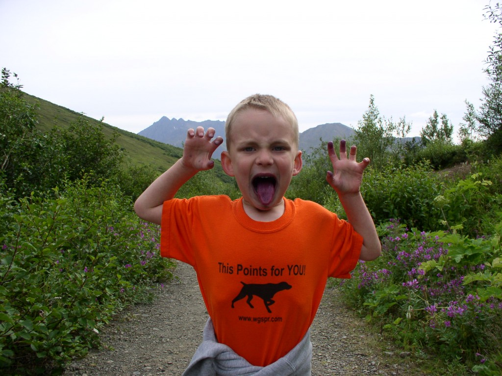 Autumn is still berry season in Alaska, so get fired up, kids! Erin Kirkland/AKontheGO