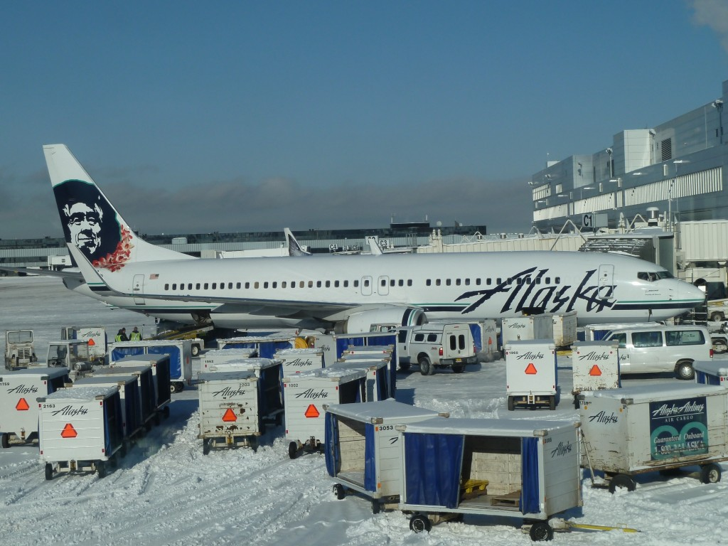 Fly Alaska Airlines to Juneau, from either Seattle or Anchorage.