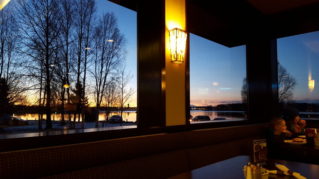 Enjoy a meal at the Fancy Moose Lounge while savoring the view, as well. Erin Kirkland/AKontheGO