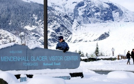 Mendenhall Glacier Visitors Center and recreation area is full of kid-friendly activities, year-round. Erin Kirkland/AKontheGO