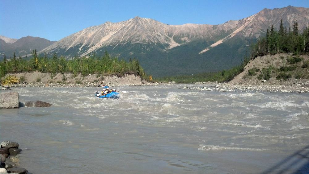 Class III whitewater with kids? No problem with McCarthy River Tours.