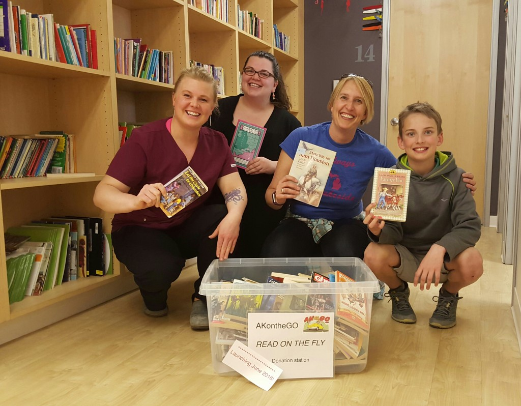 Alaska Center for Pediatrics is a book donation station and supporter of Read On the Fly!