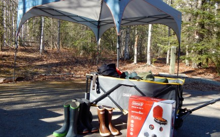 Wagons fit more than just toys. Look at all this gear! Erin Kirkland/AKontheGO