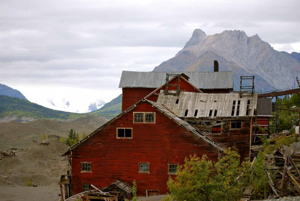 Kennecott National Historical Landmark is located deep within Wrangell-St. Elias NP. Erin Kirkland/AKontheGO