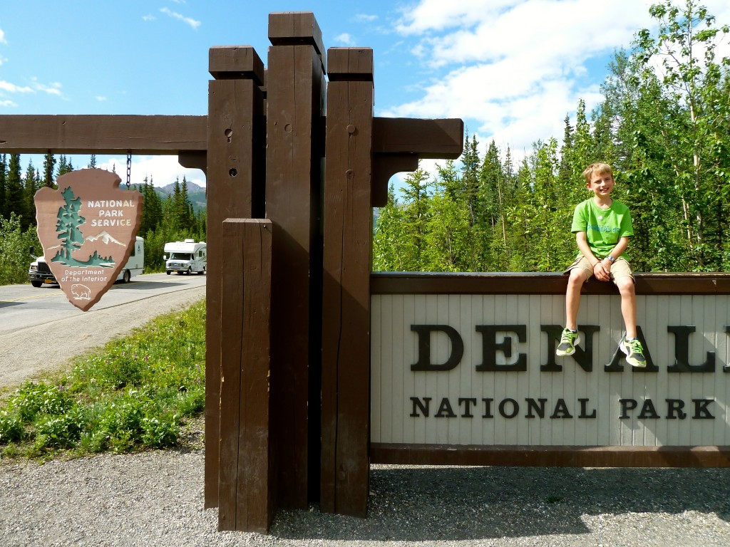 Welcome to Denali National Park. Erin Kirkland/AKontheGO