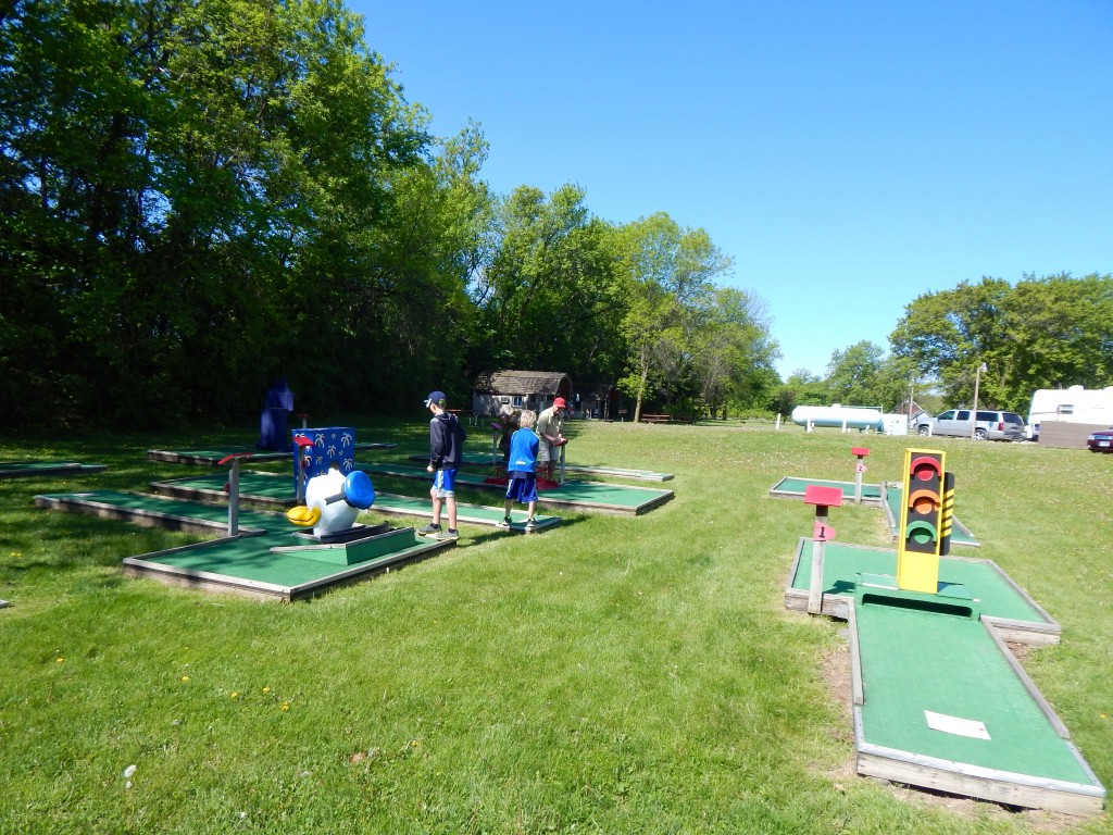 Minneapolis NW KOA mini golf was a good way to get started on a long day. Erin Kirkland/AKontheGO