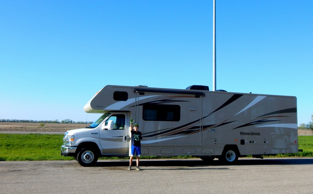 At 31 feet, our RV is not  a small vehicle, but it handles well and is very responsive for something so large. Erin Kirkland/AKontheGO