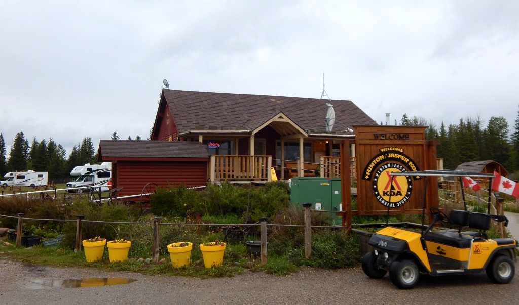 The Hinton/Jasper KOA office and store are housed in a historic building. Erin Kirkland/AKontheGO