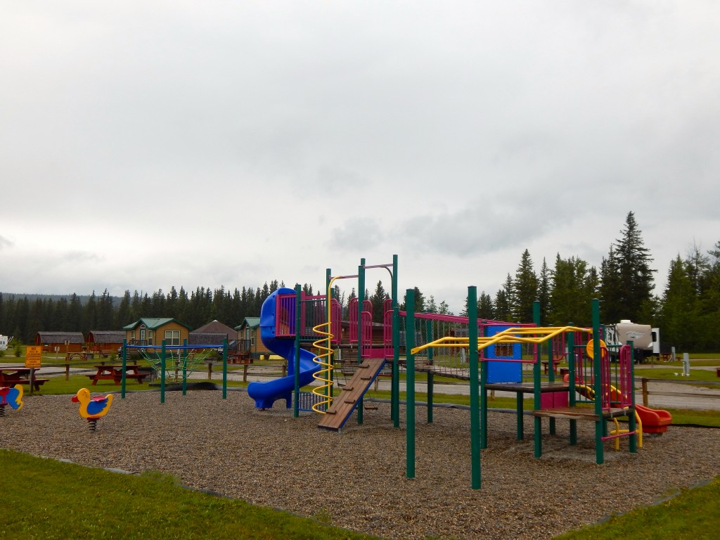 Playgrounds for kids are a major factor in KOA's business franchise plan. Erin Kirkland/AKontheGO