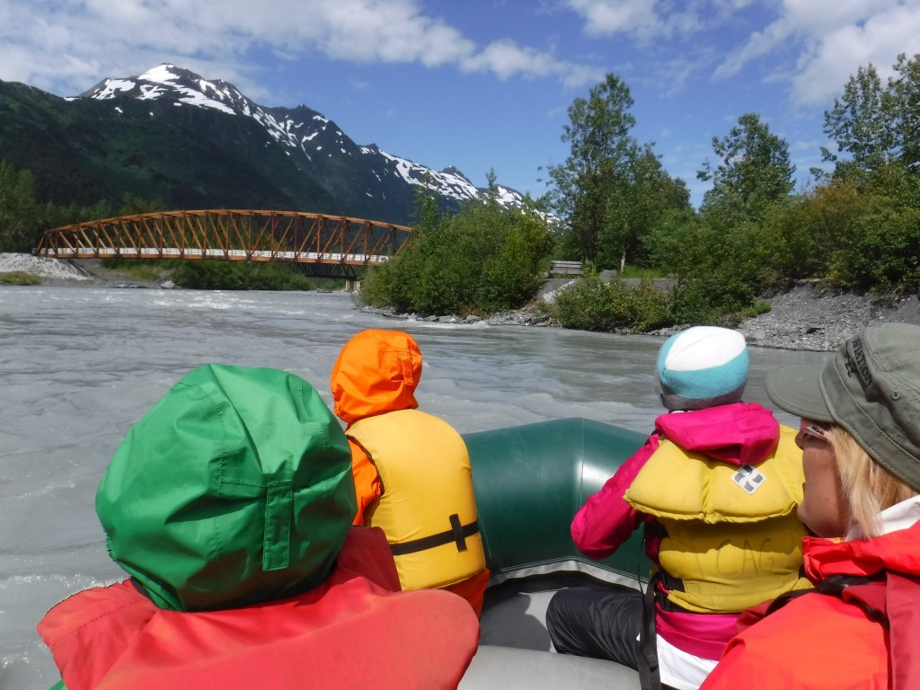 Chugach Adventures takes kids on a wild ride down the Placer River. Danielle Benson/AKontheGO