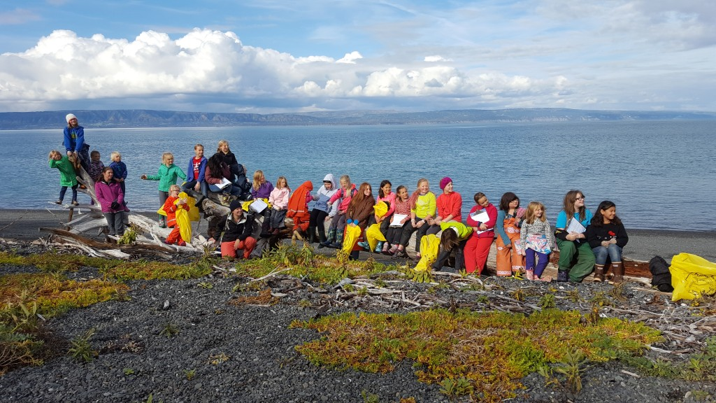 Be like these kids and become stewards of your ocean. Image courtesy CACS.