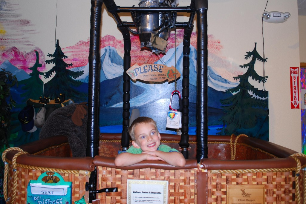 The Bear and Raven Adventure Theater in downtown Anchorage has some great attractions for kids! Erin Kirkland/AKontheGO