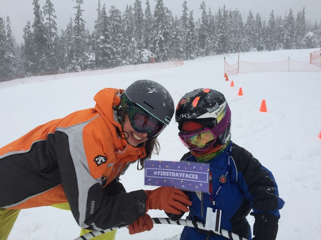 #firstdayfaces are wonderful at Eaglecrest Ski Area in Juneau.